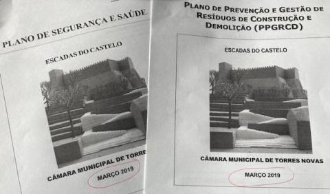 Documentos que faziam parte do processo apresentado para ratificação do despacho